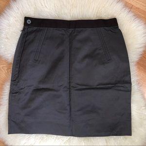 Vintage Iridescent Brown High Waisted Skirt